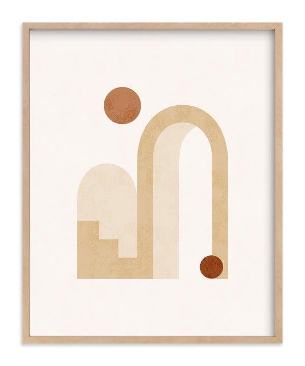 16x20 Rustic Geo Art Print
