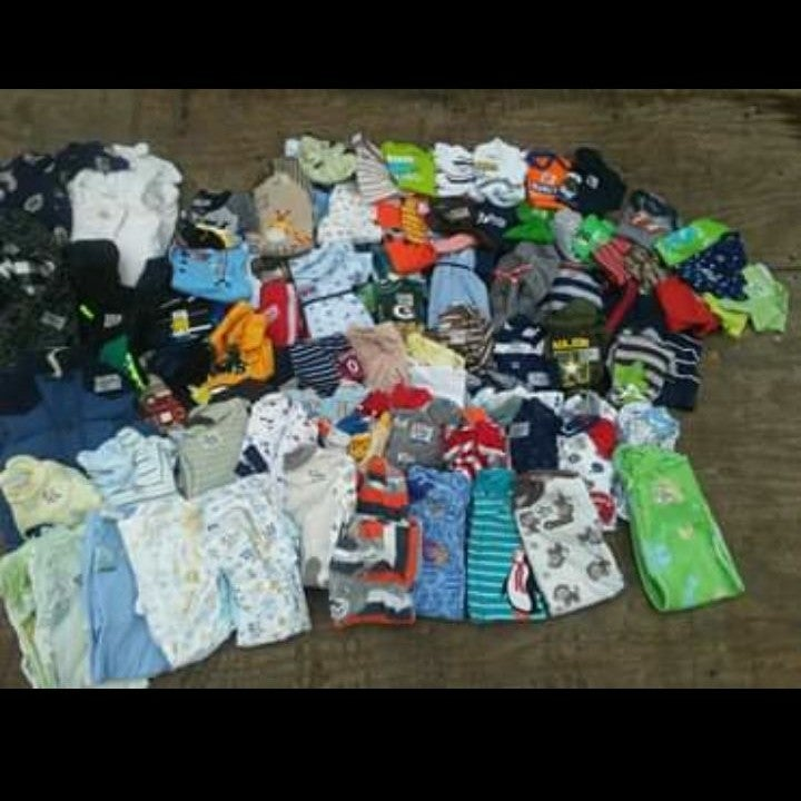 Baby boy 0-3 months clothes lot