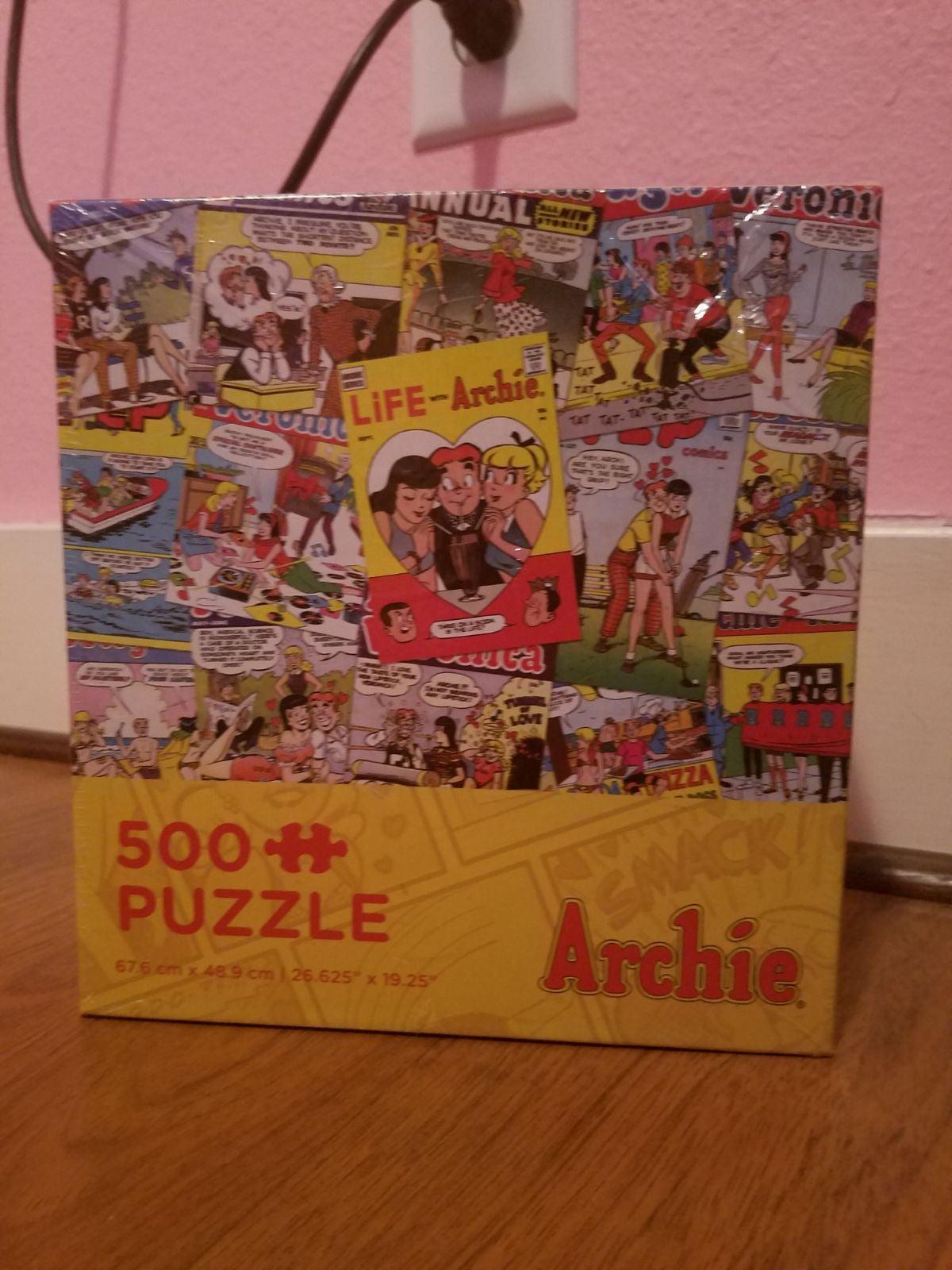 Archie Puzzle NEW  500 pieces