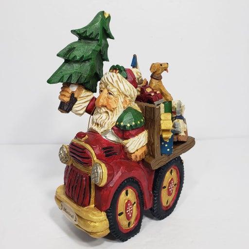 1999 David Frykman Santa Truck Music Box