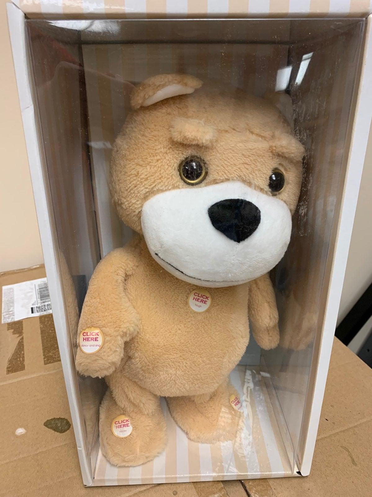 Naujova Teddy Bear Dancing Talking Singi