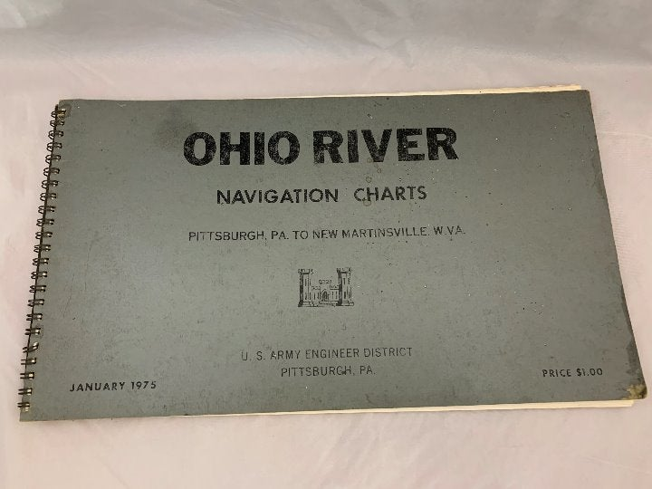 1975 Ohio River Navigation Charts