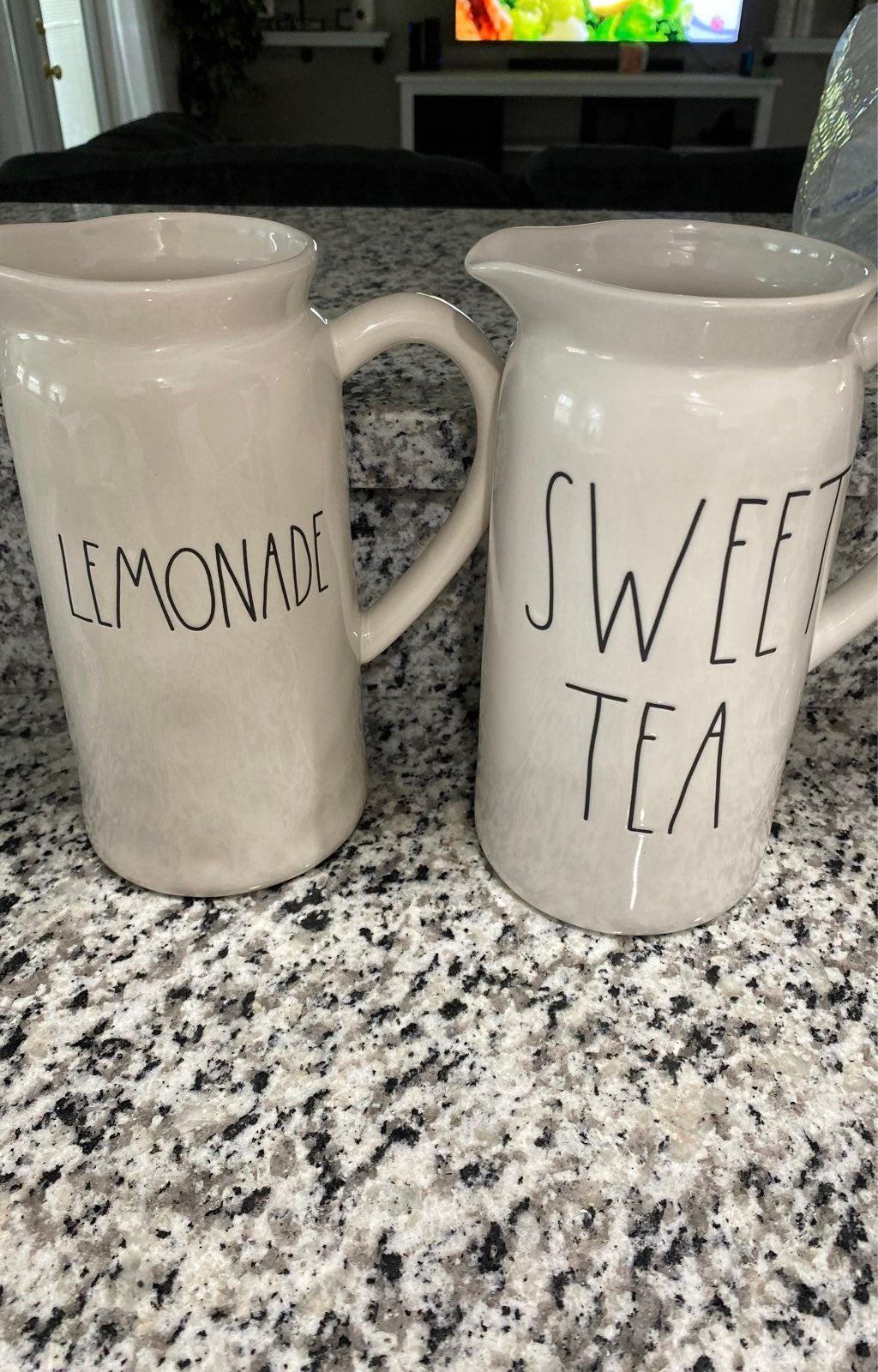 Rae Dunn sweet tea pitcher