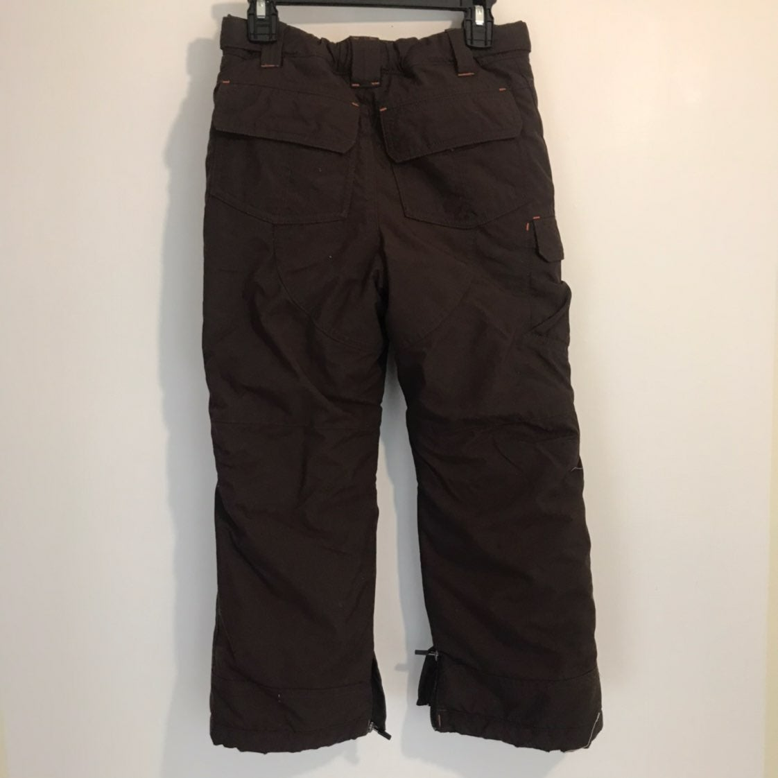 LL Bean Brown Thinsulate Snow Pants 6x-7