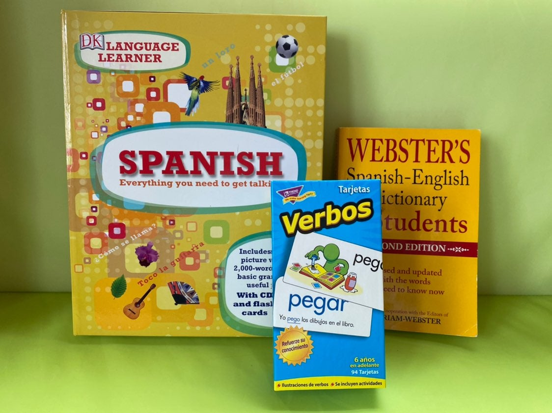 Spanish laguage learning kit