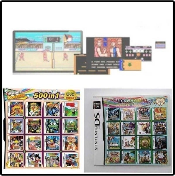 Nintendo 3DS 500 in 1 Game Card