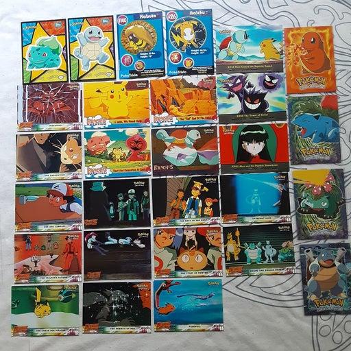 Topps Pokemon Movie, Sticker, Ep Cards