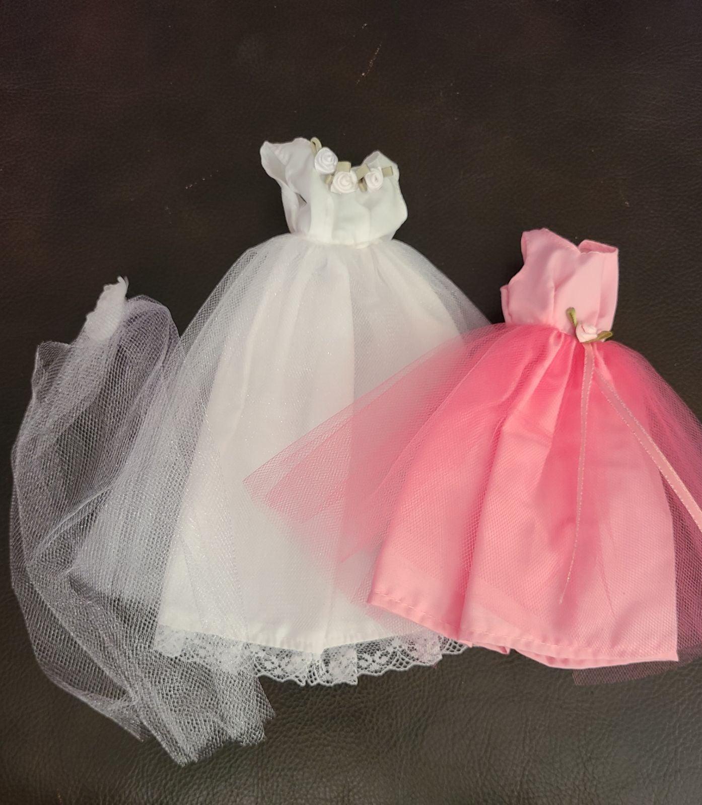 Handmade Fashion Doll Bridal Dress