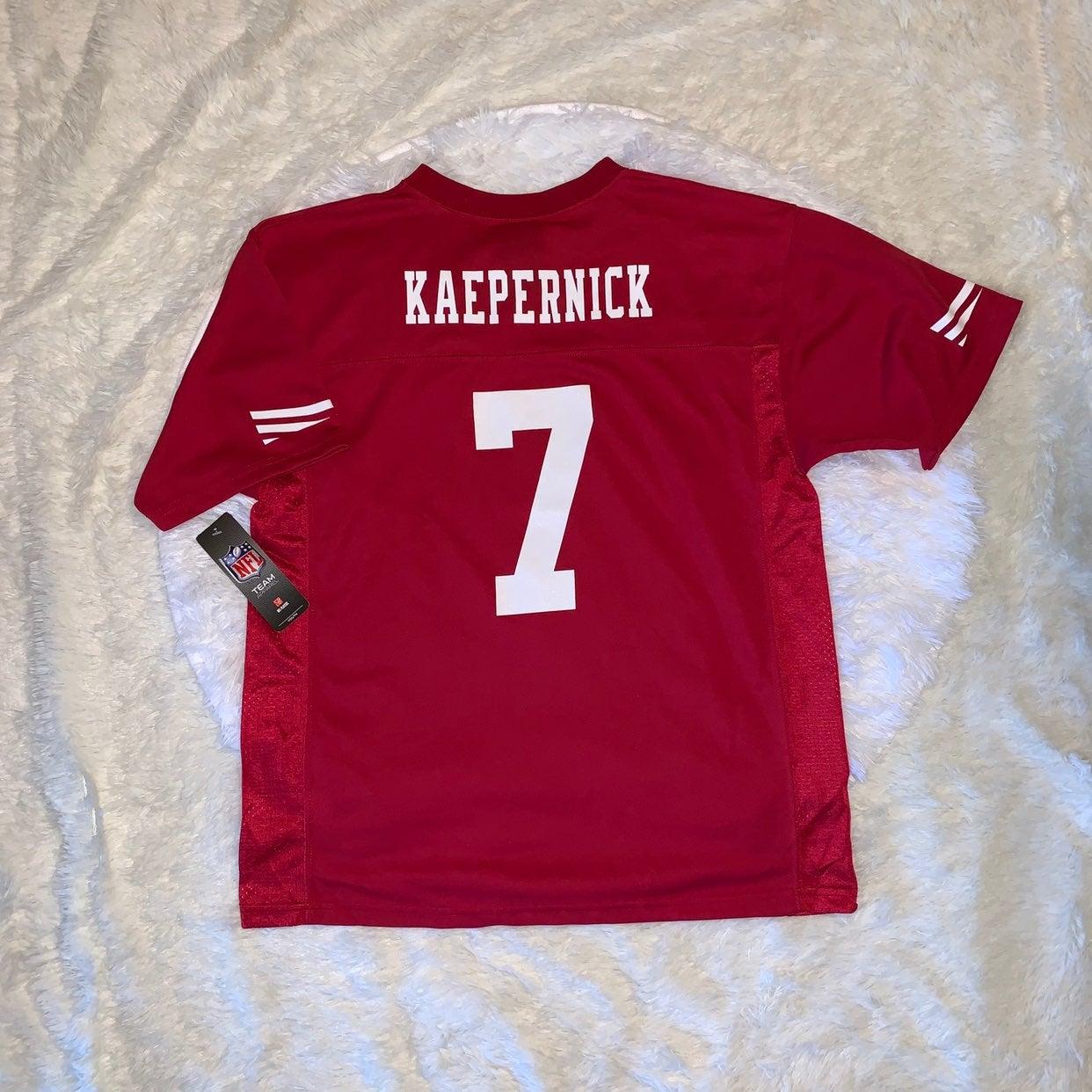 Kaepernick Football Jersey youth XL