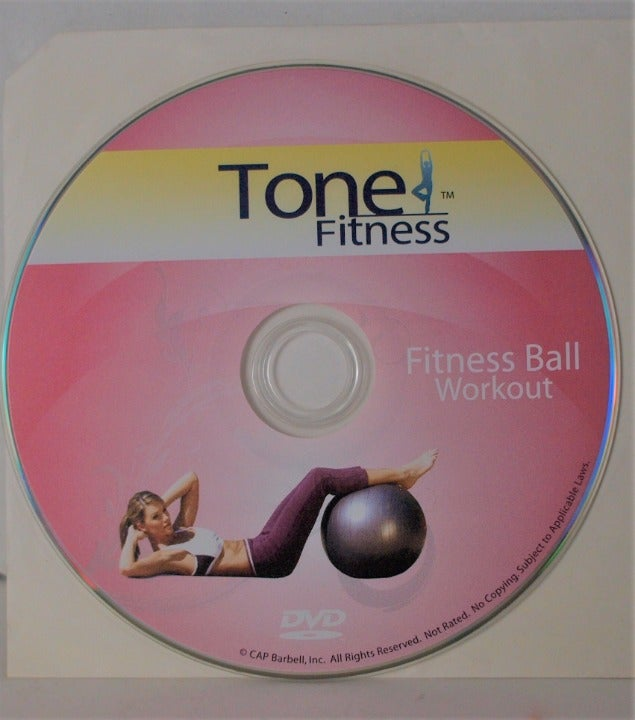 Tone Fitness Fitness Ball Workout DVD