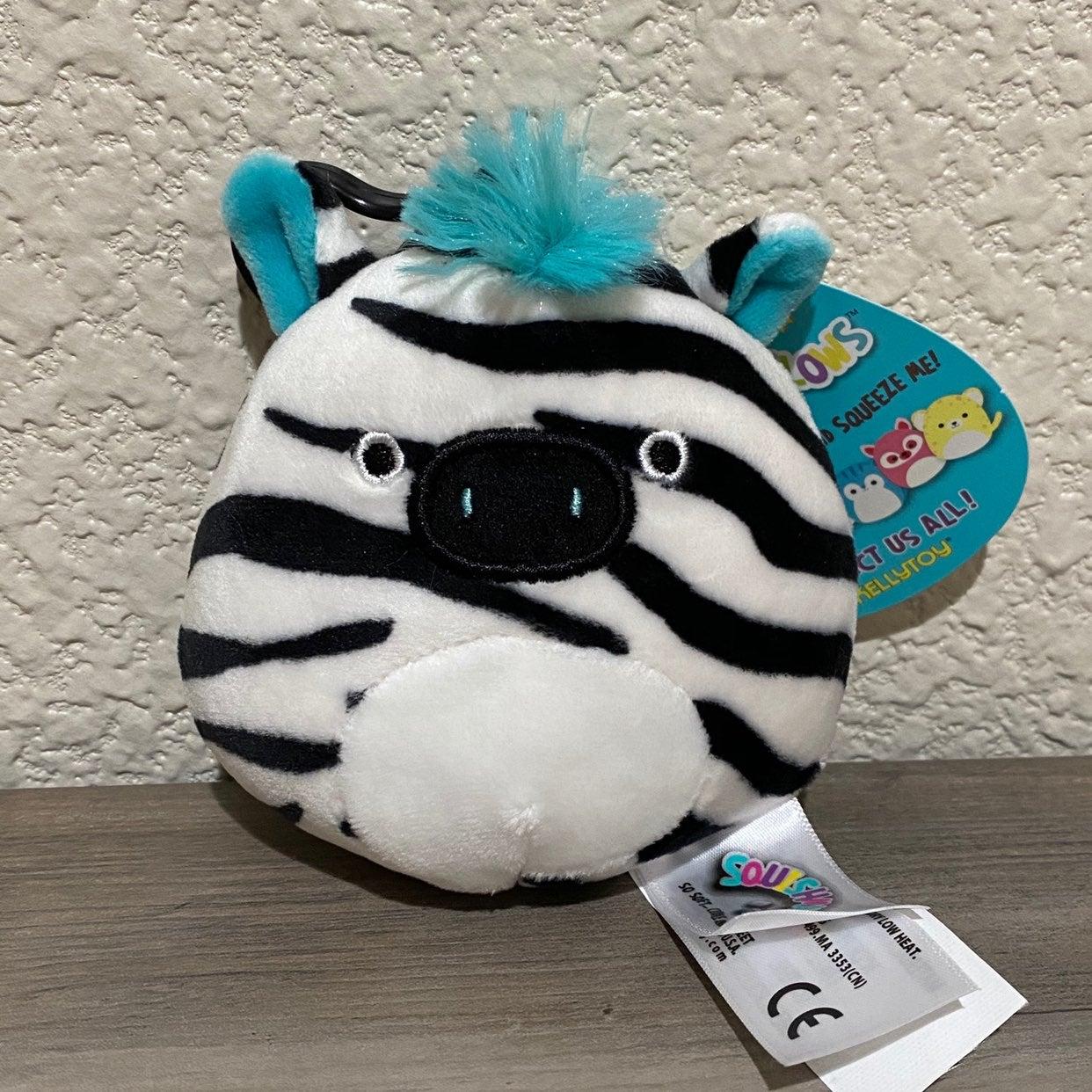 "3.5"" Squishmallow Zebra Zeke"
