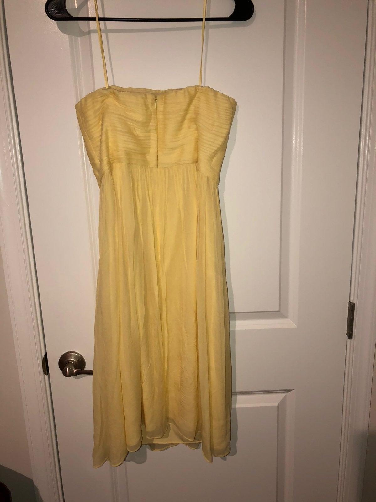 J.crew silk chiffon dress