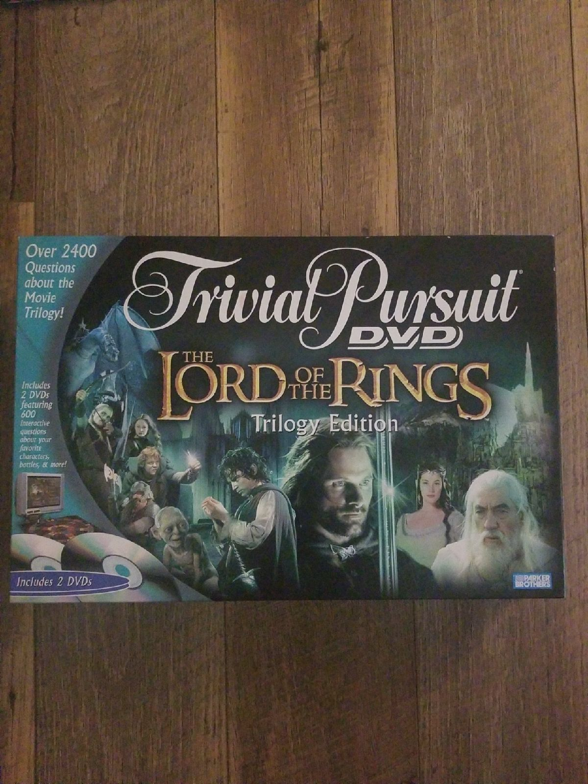 Lord of The Rings Trivial Pursuit Board