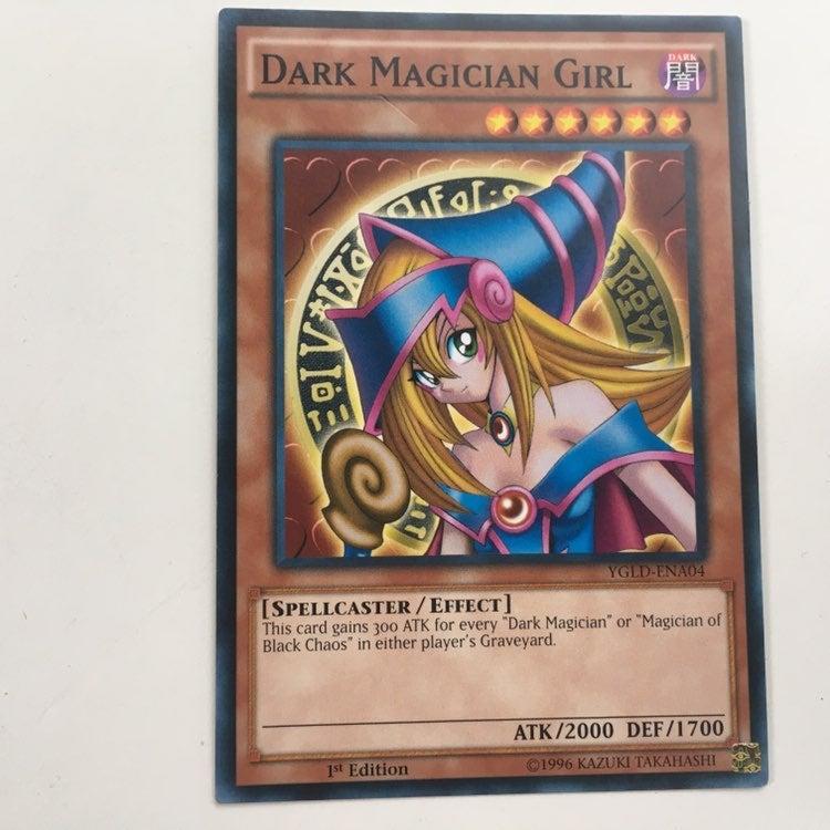 Dark Magician Girl Yugioh 1st Edition