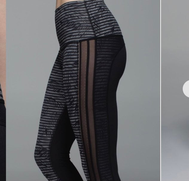 Lululemon wunder under pants size 10 -M