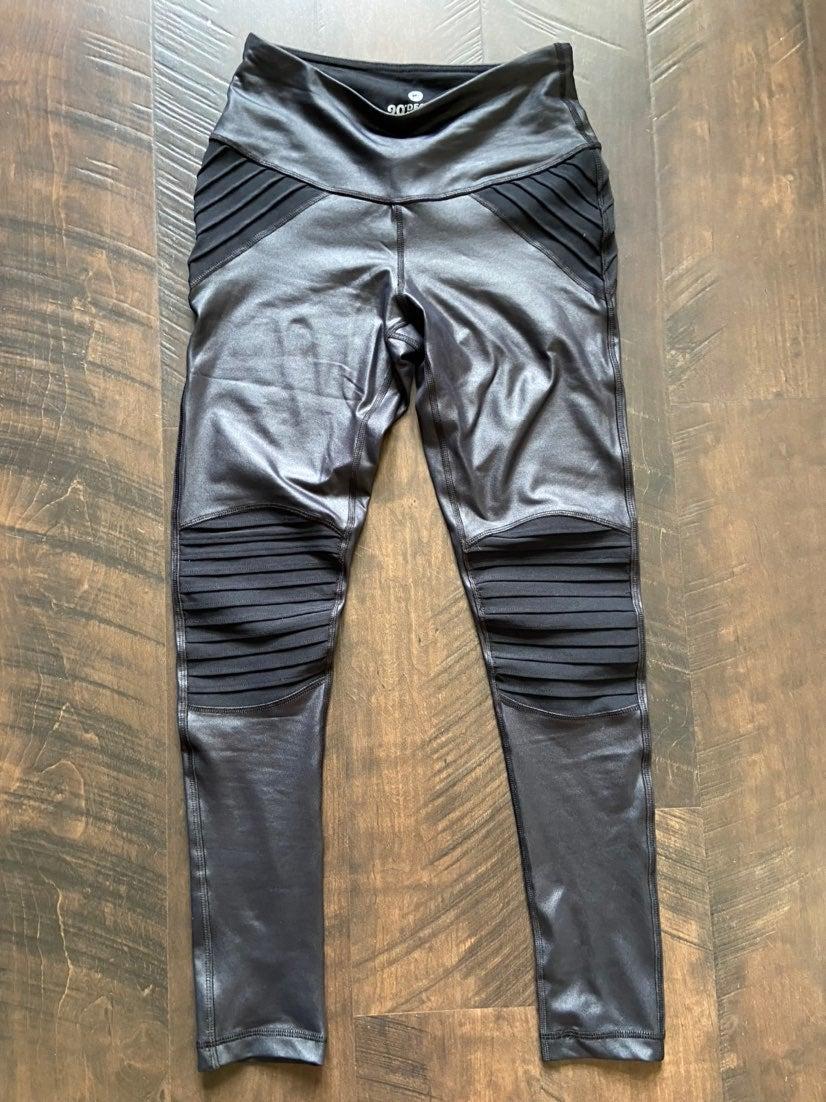 leggings - faux leather