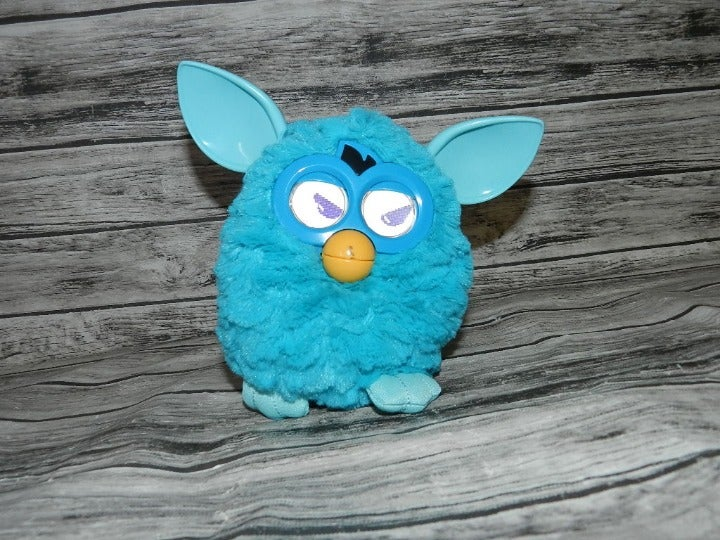 Furby Boom Blue Teal Interactive