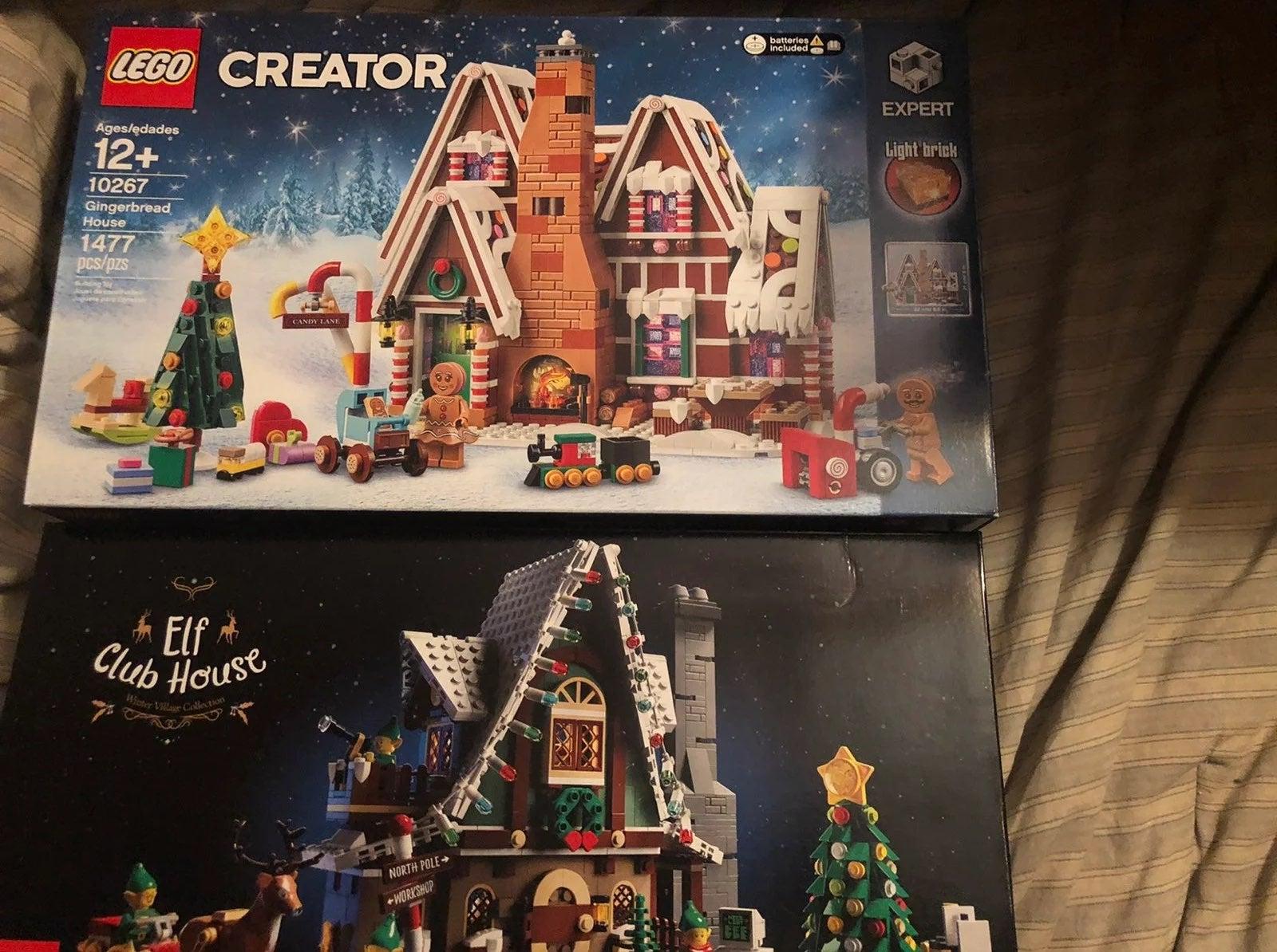 Lego 10267 & lego 10275 Gingerbread & El