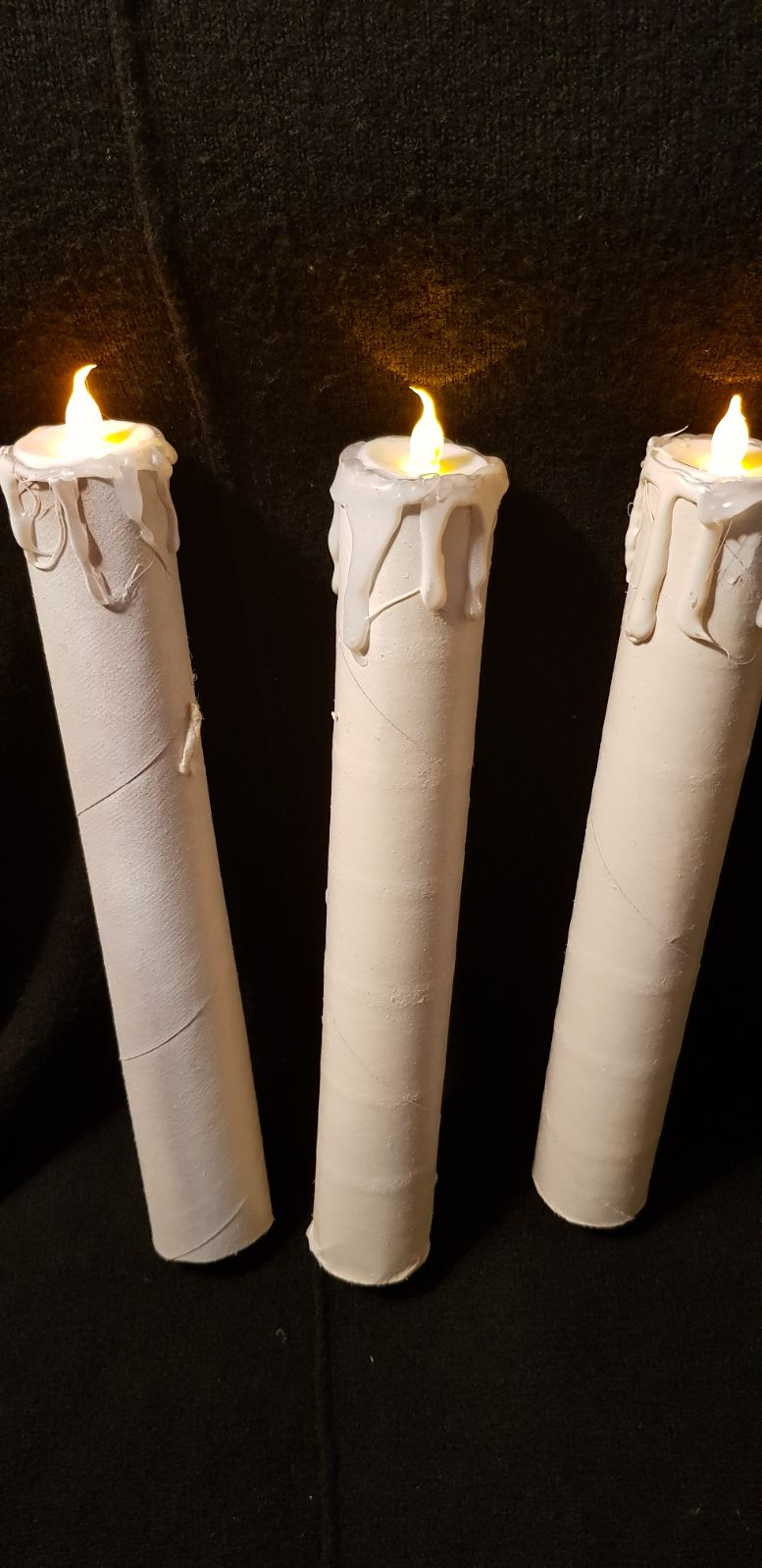 Handmade floating candles