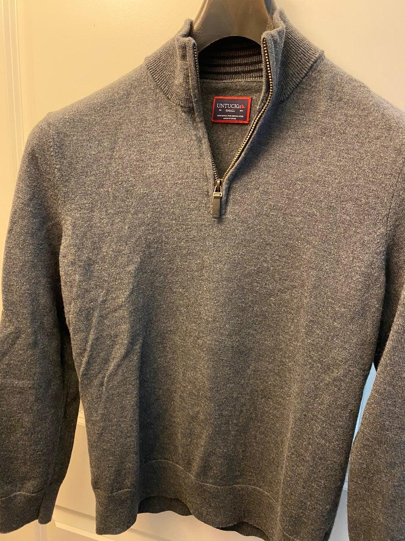 Untuckit Merino Wool Sweater 1/4 Zip S