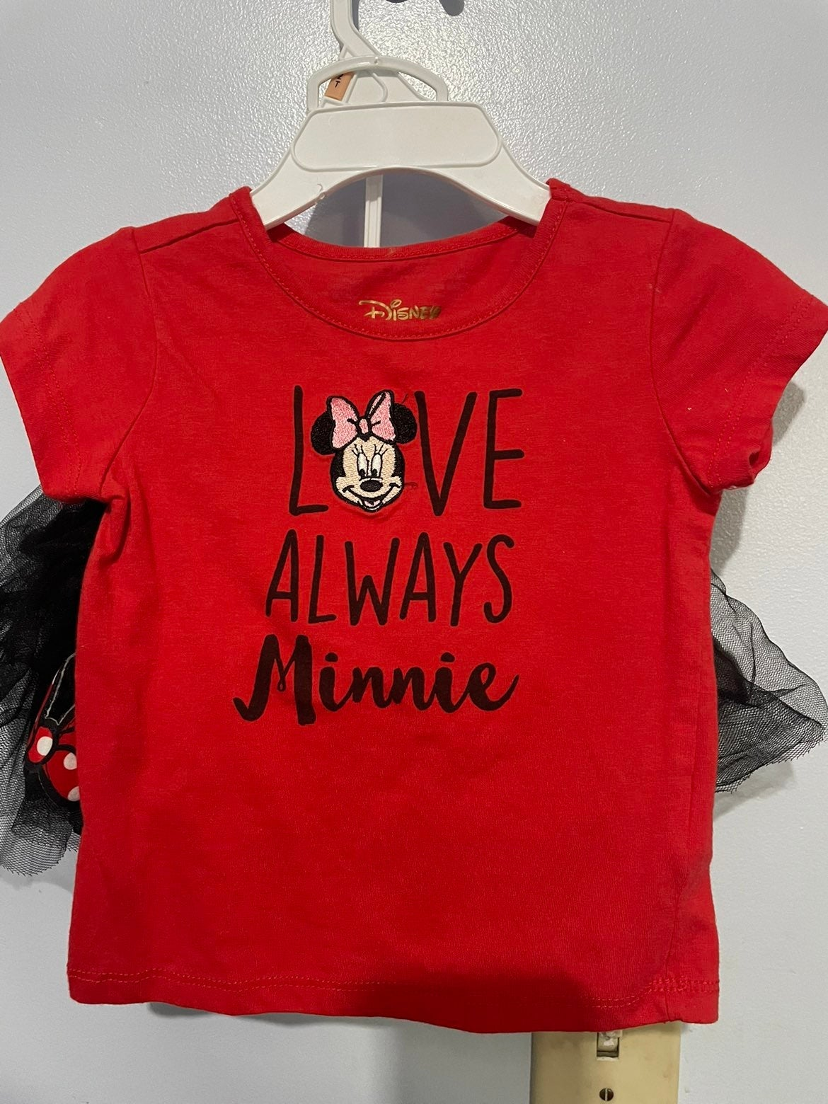 Toddler minnie mouse outfit