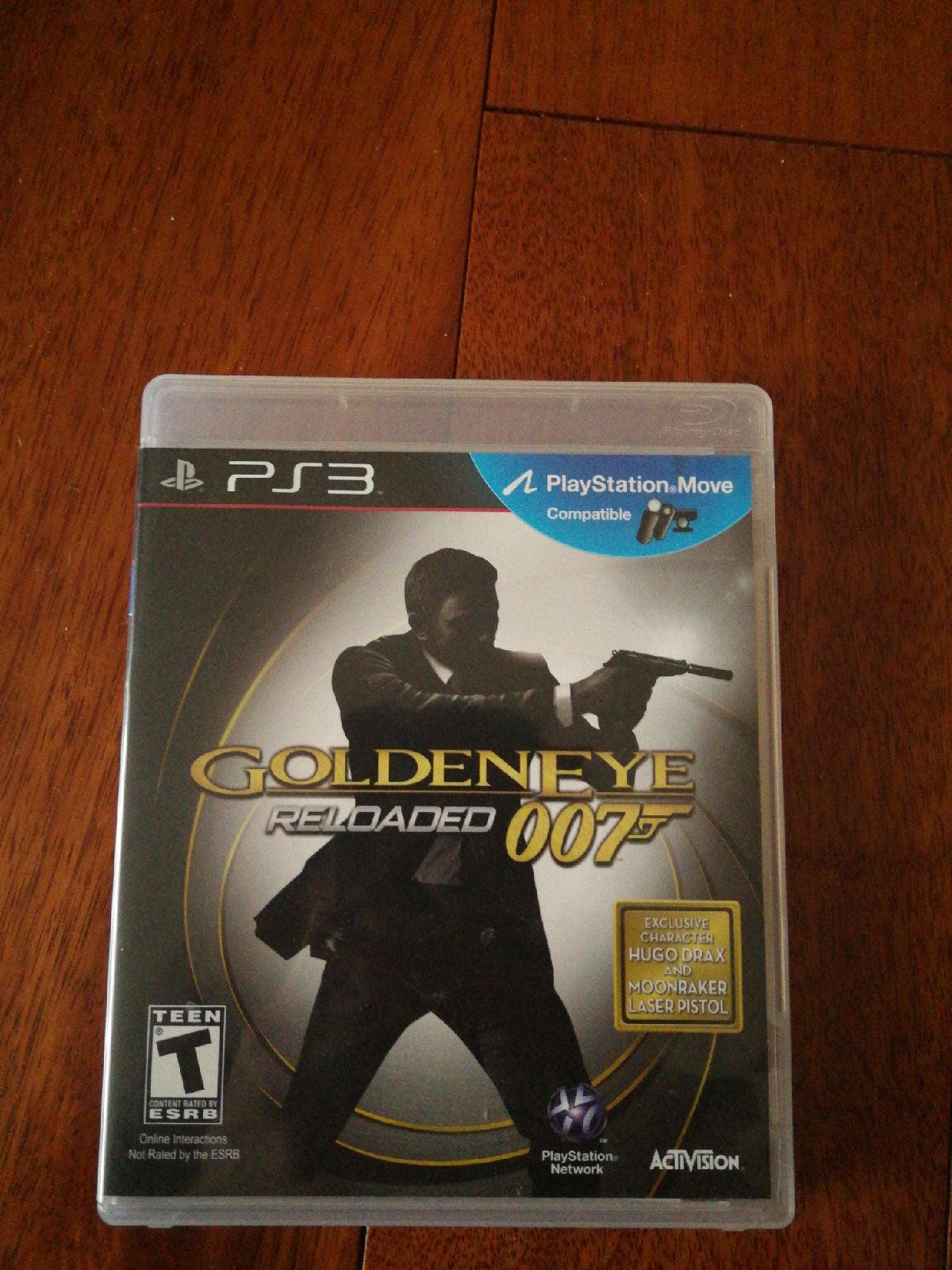 ps3 game GoldenEye Reloaded 007