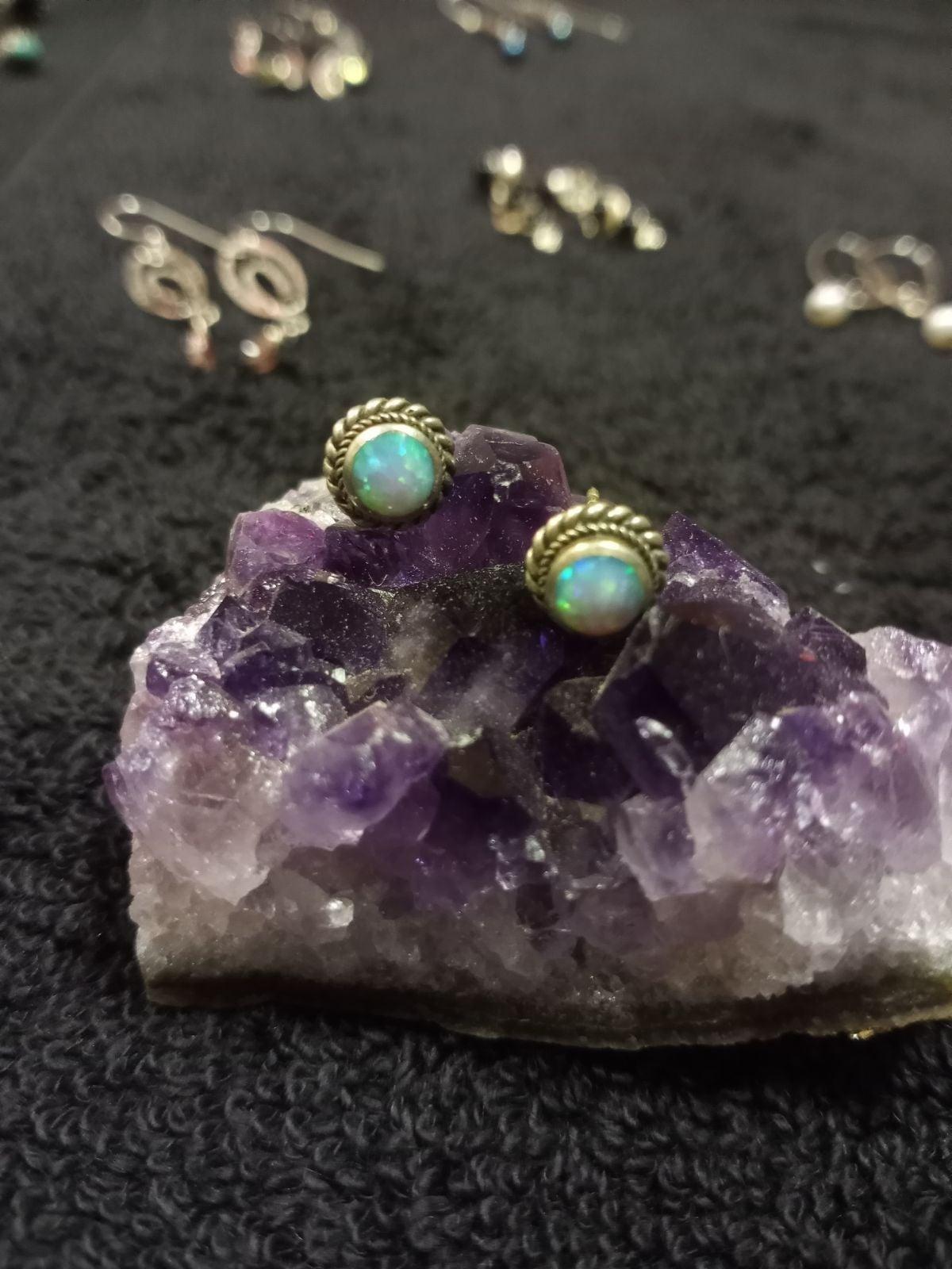 Fire Opal Earrings B2G1