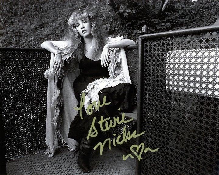 Stevie Nicks PP Auto Fleetwood Mac photo