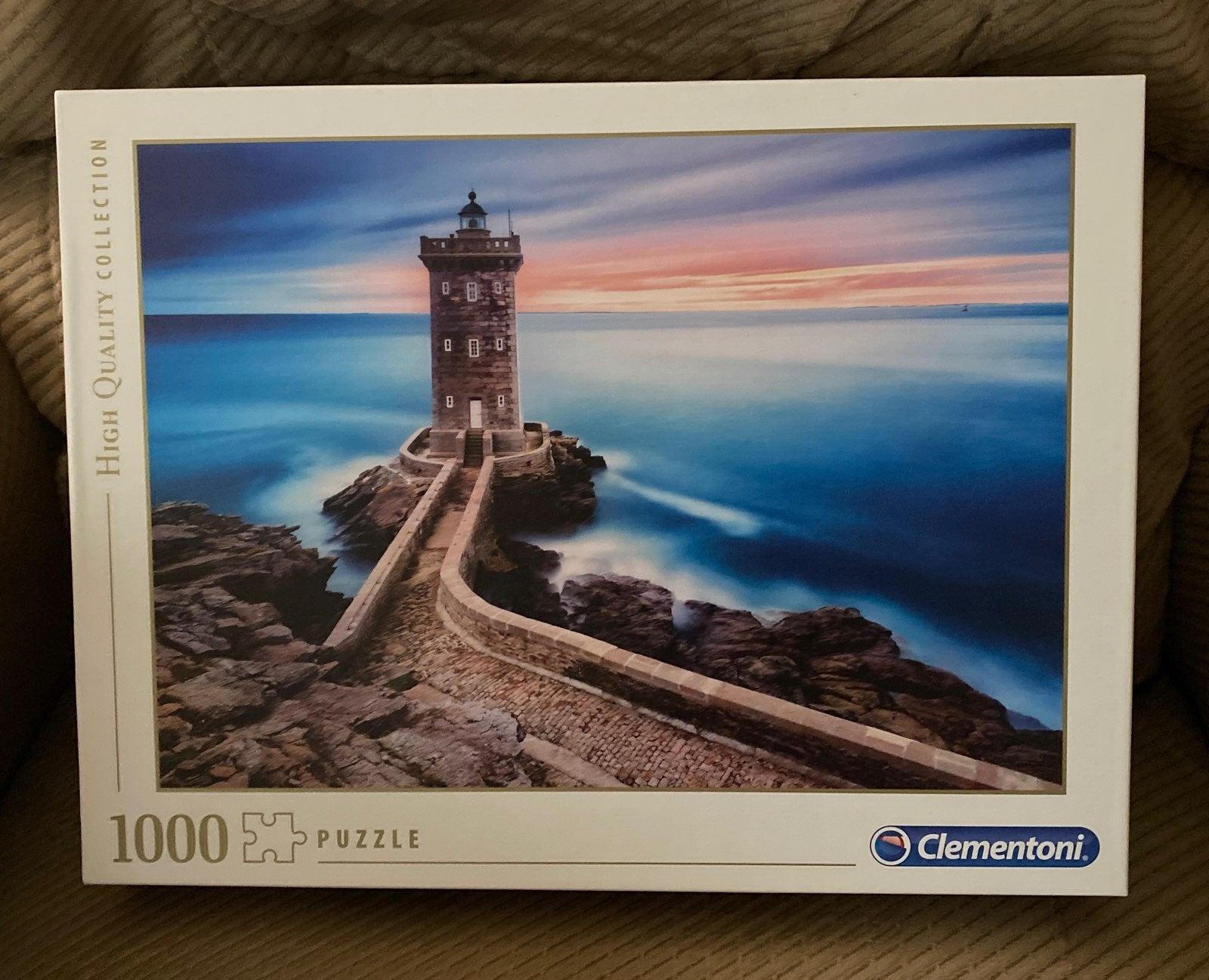 Clementoni Lighthouse 1000 pc puzzle