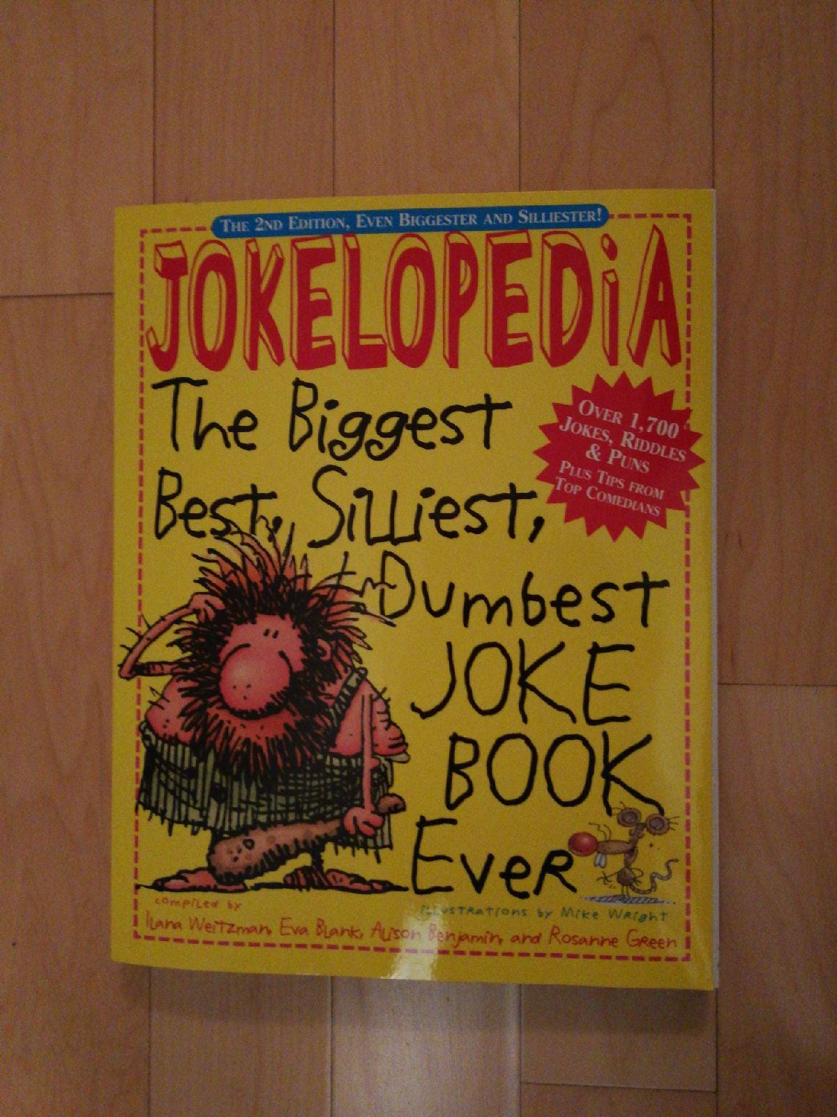 Jokelopedia book jokes