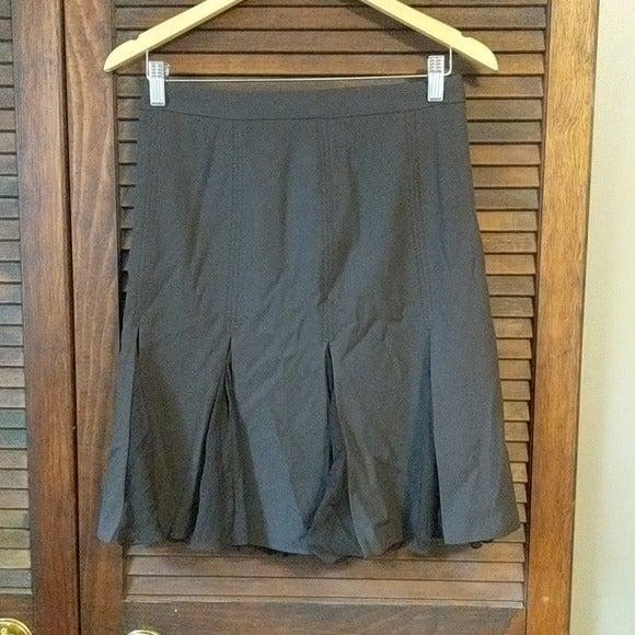 Moschino Brown Ruffle Skirt
