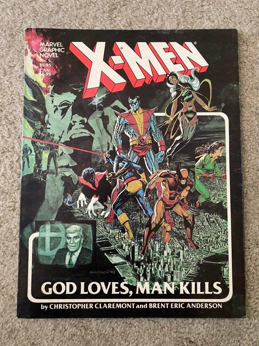 X-Men God Loves Man Kills Graphic Novel
