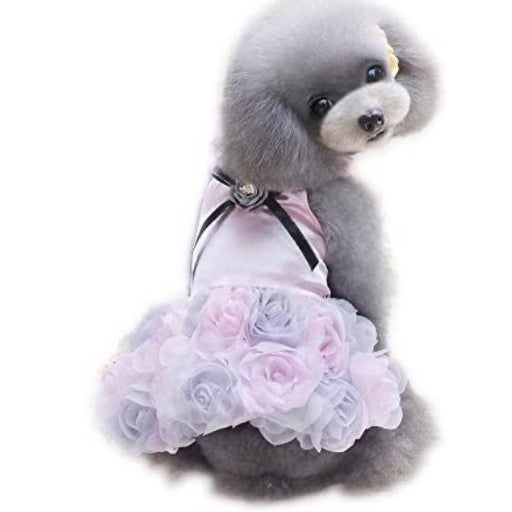 Pet Small Dog Clothes Party Dress