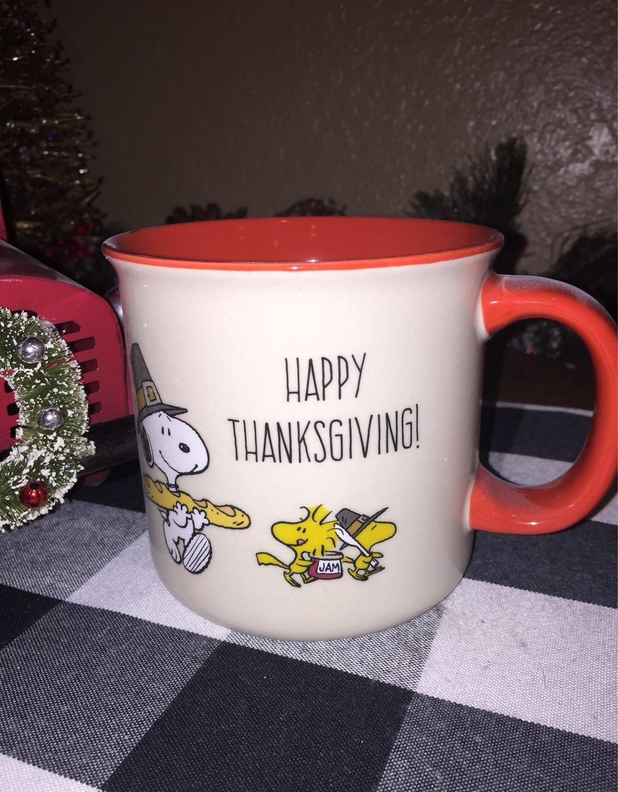 Peanuts Snoopy Happy Thanksgiving
