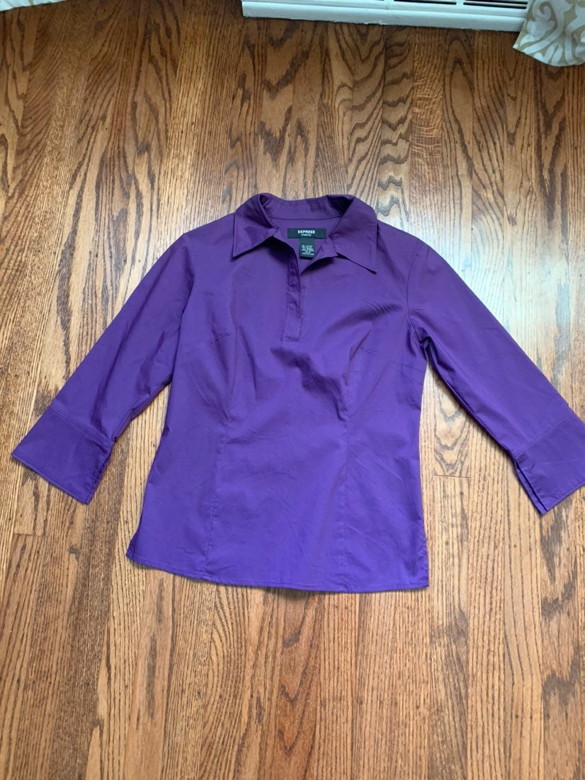 Beautiful Purple Blouse