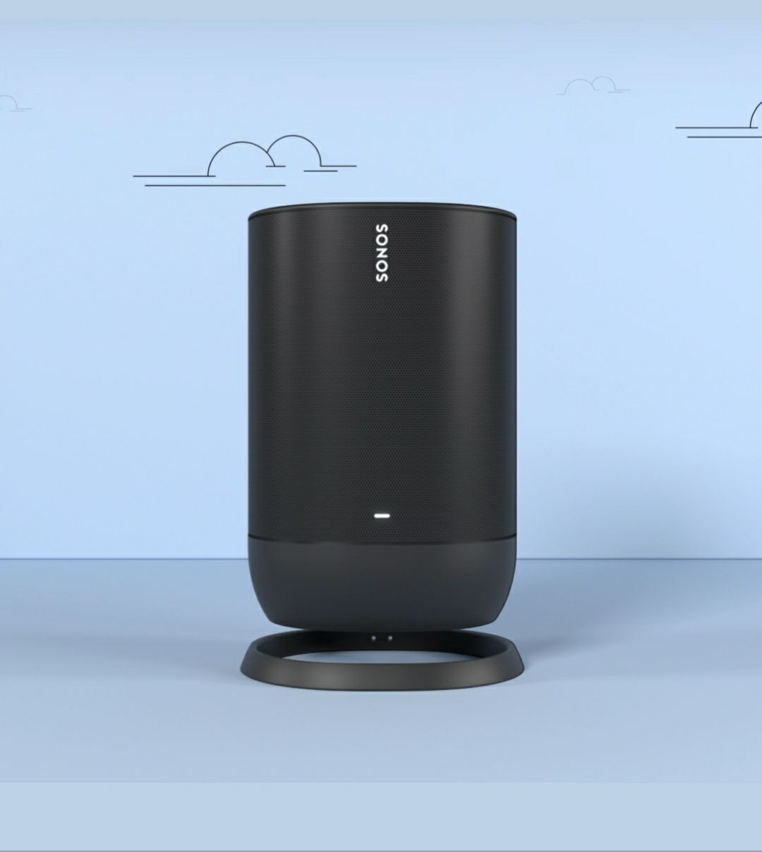 Sonos Move with charger dock.. wifi and
