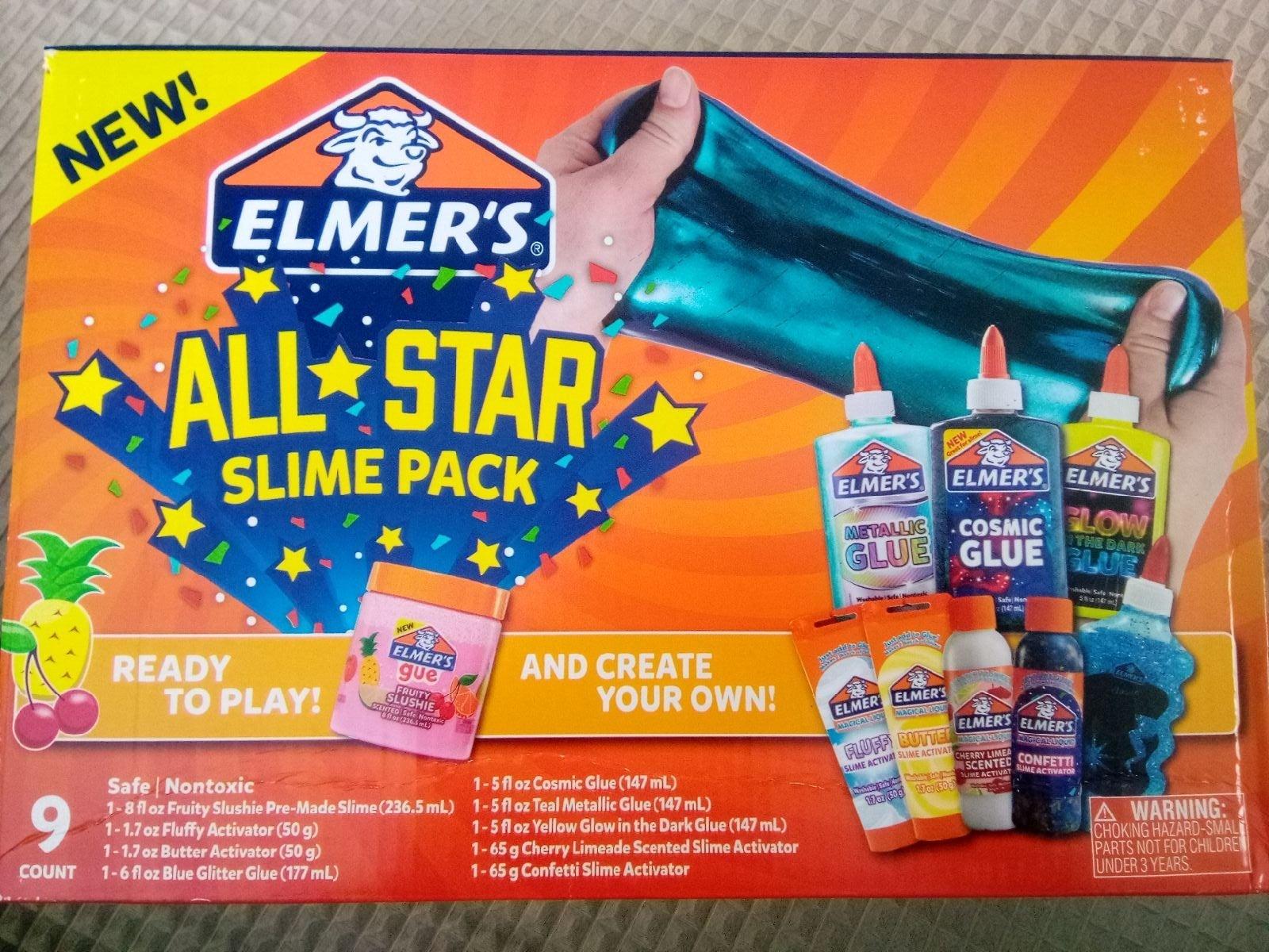 Elmer's All-Star Slime Pack
