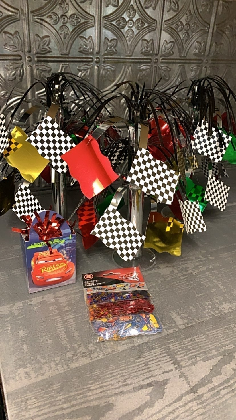 Disney Cars Birthday Party Decor