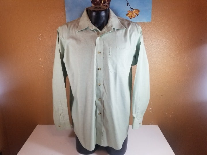 L.L. Bean Men Casual Long Sleeve Shirt L