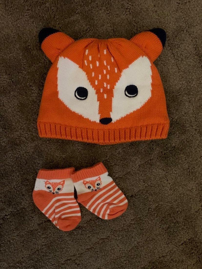 Infant hat and socks