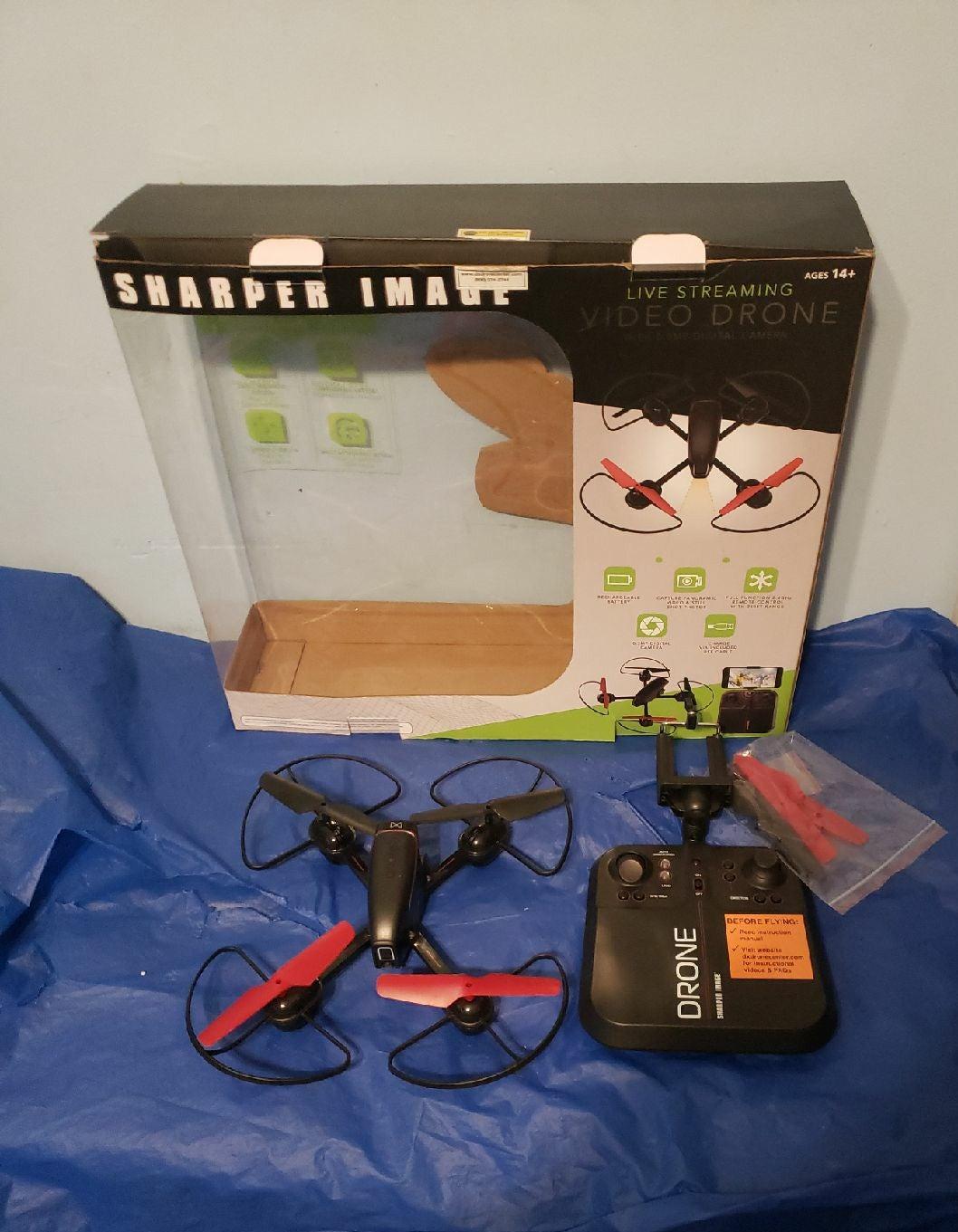 Sharper Image Video Drone