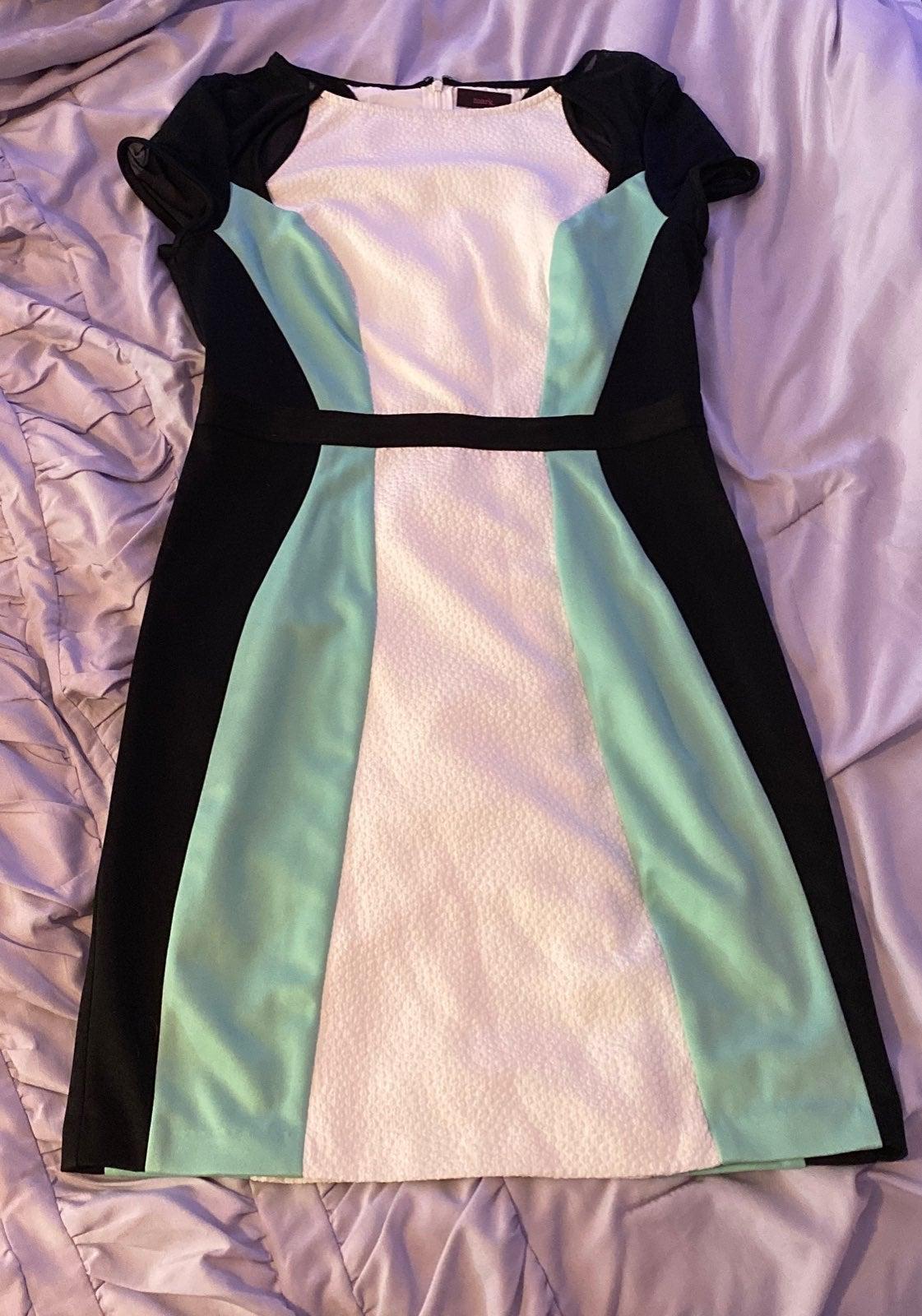Avon/ Mark Short Sleeve Dress (M)
