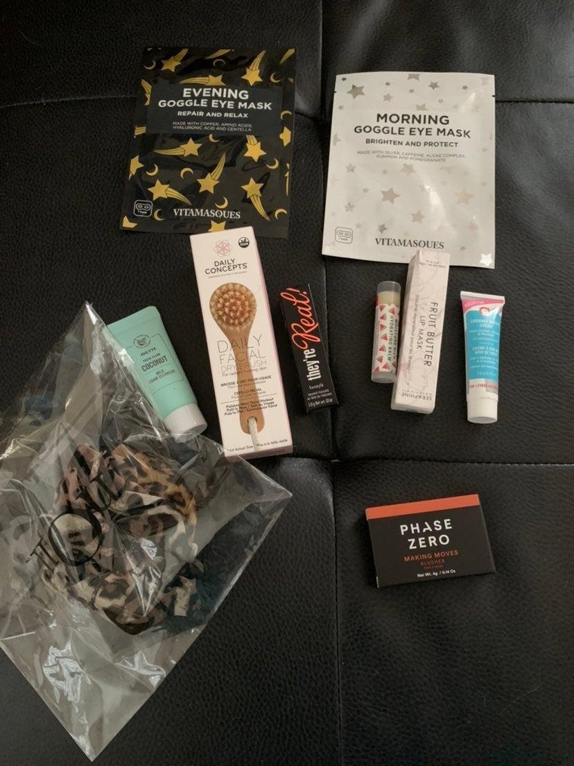 Makeup skincare stocking stuffer bundle