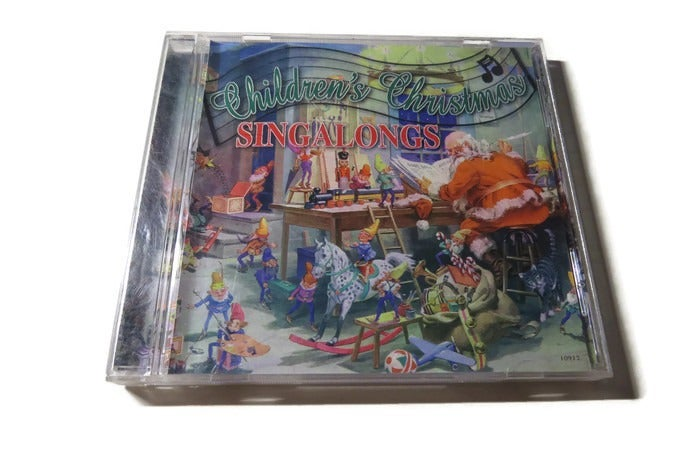 Childrens Christmas Singalongs Music CD