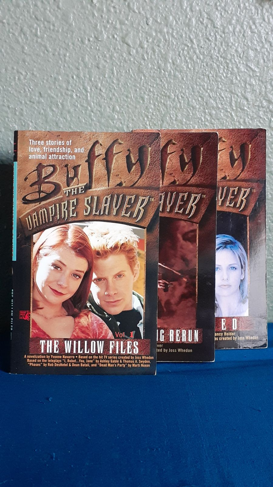 90s Buffy the Vampire Slayer Novels