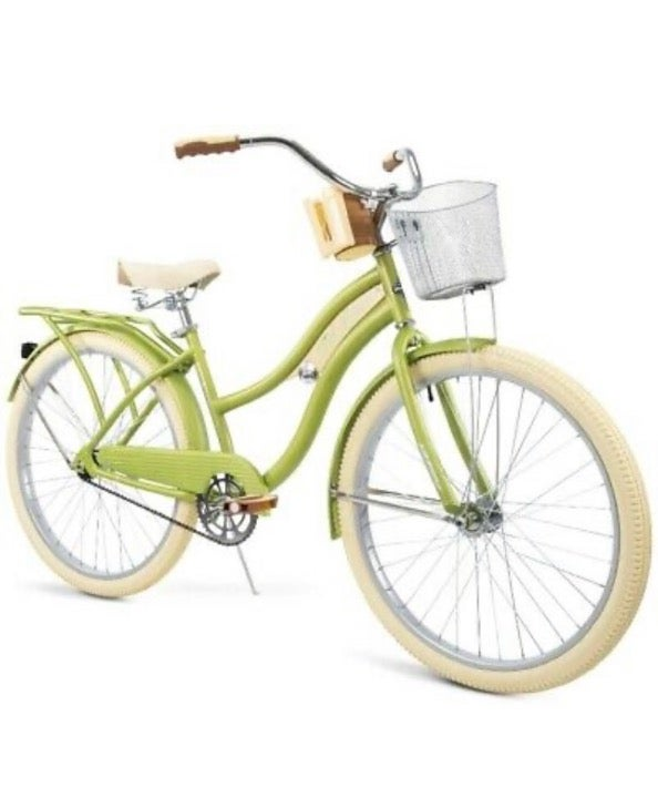 Huffy nel lusso cruiser bike green