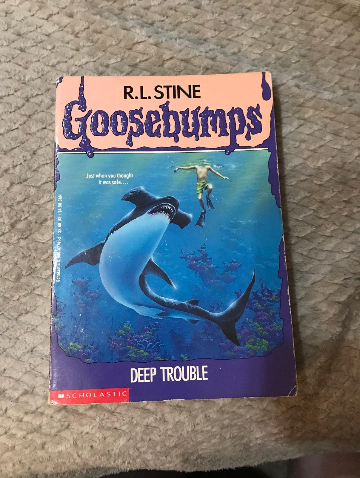 Goosebumps Deep Trouble #19 Book