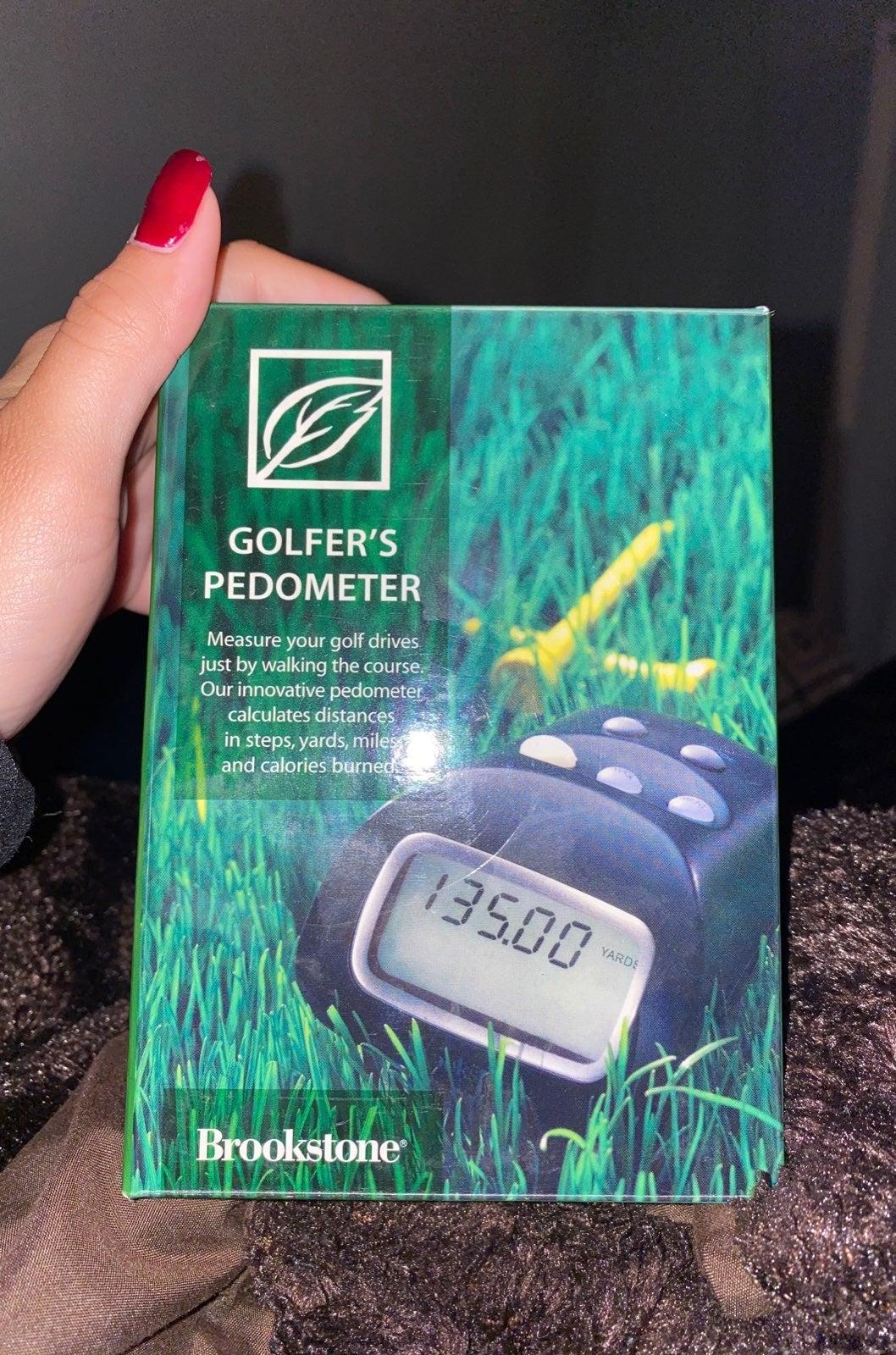 Golfers pedometer