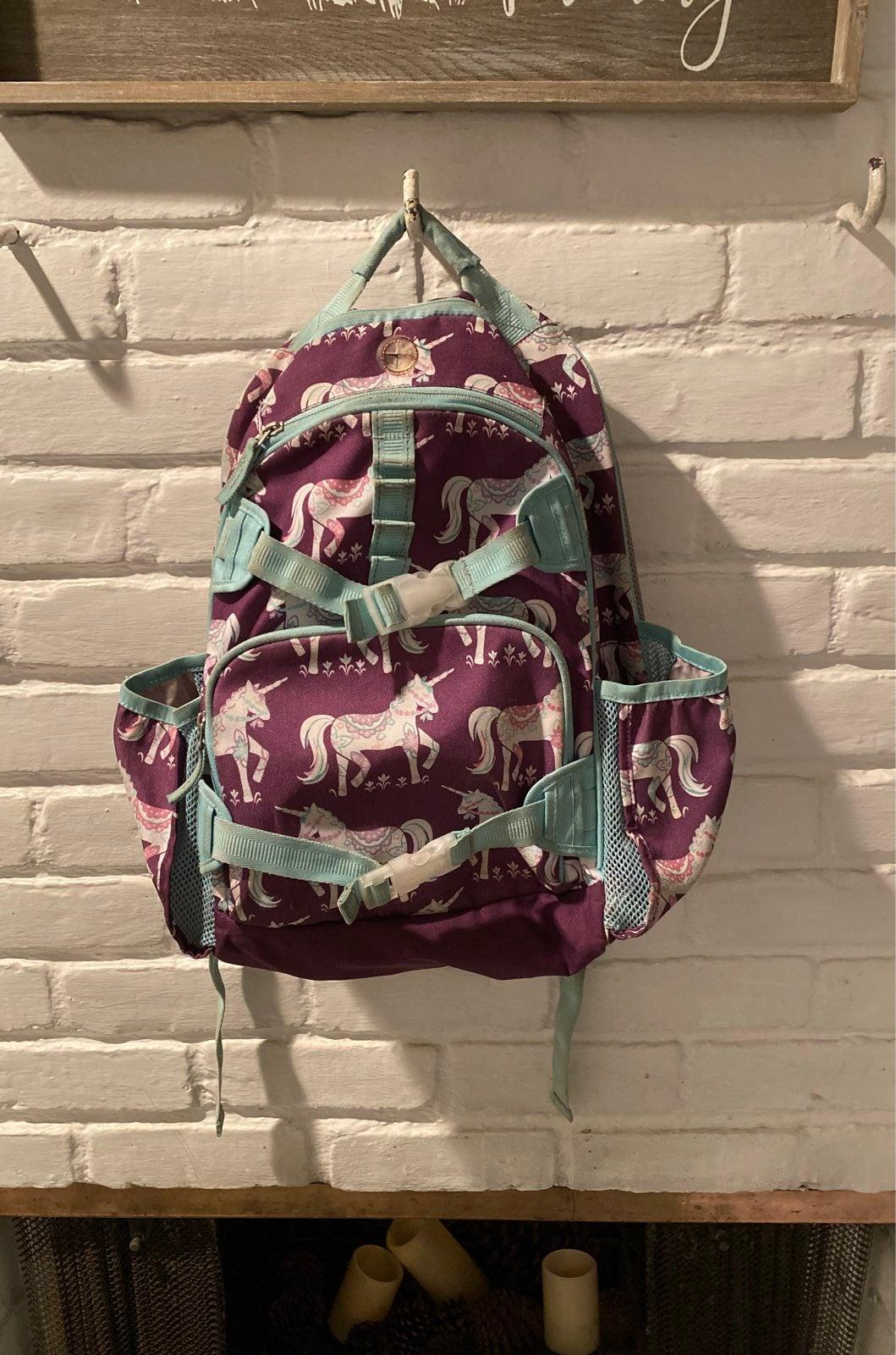 Pottery Barn Kids backpack- unicorn