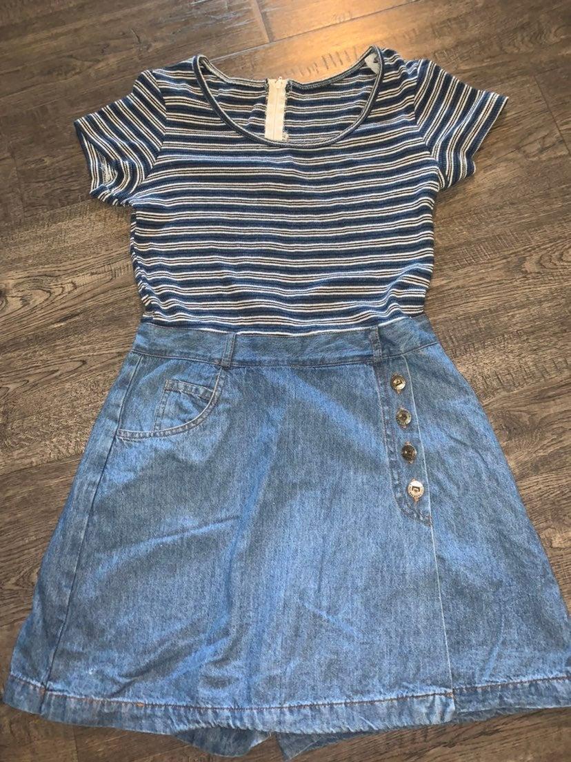 Vintage Skort Dress M